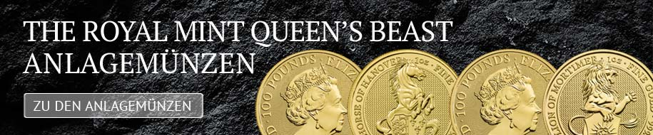 """White Horse of Hanover: Royal Mint setzt beliebte """"Queen's Beasts""""-Serie fort"""